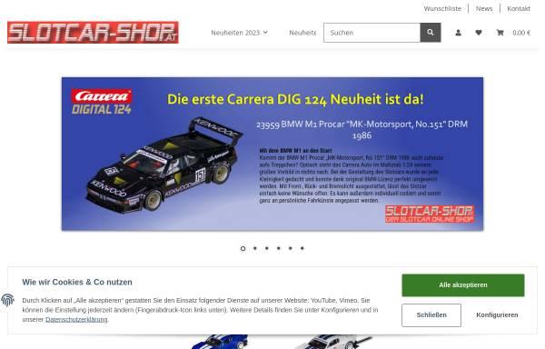 Vorschau von www.slotcar-shop.at, SlotCar-Shop, Promodesign Franz Schinagl