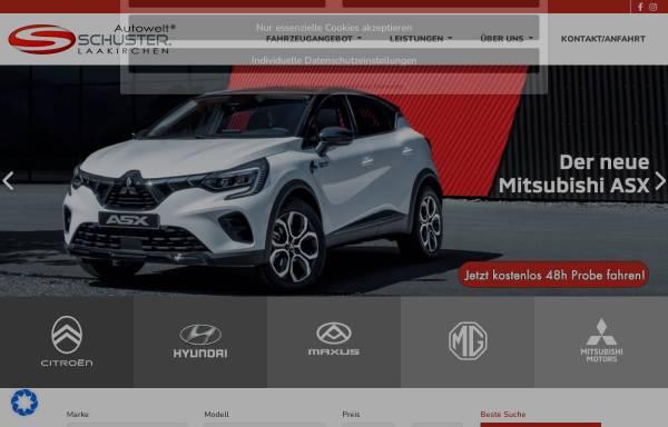 Vorschau von www.auto-schuster.at, Autohaus Schuster