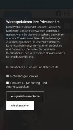 Vorschau der mobilen Webseite www.fahrschule-rauch.at, Fahrschule Rauch