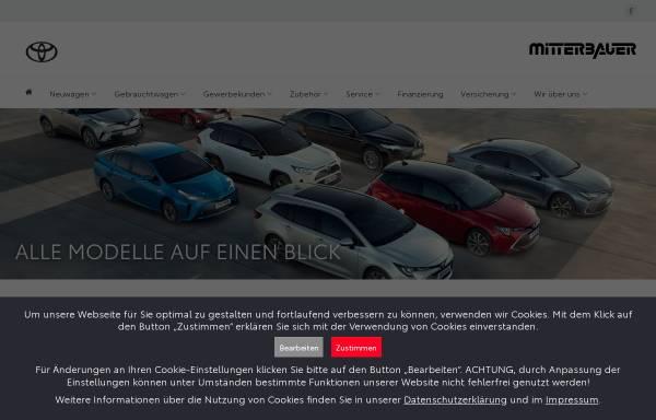 Vorschau von www.toyotalinz.at, Toyota Mitterbauer