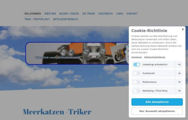 Vorschau von www.meerkatzen.de, Meerkatzentriker Bremerhaven