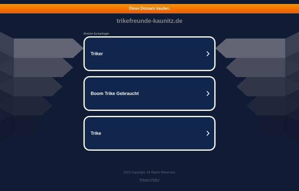 Vorschau von www.trikefreunde-kaunitz.de, Trikefreunde Kaunitz