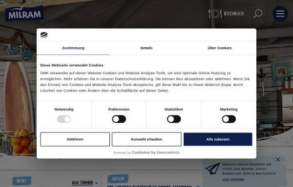 Vorschau von www.ravensberger.de, Ravensberger - Humana Milchunion eG