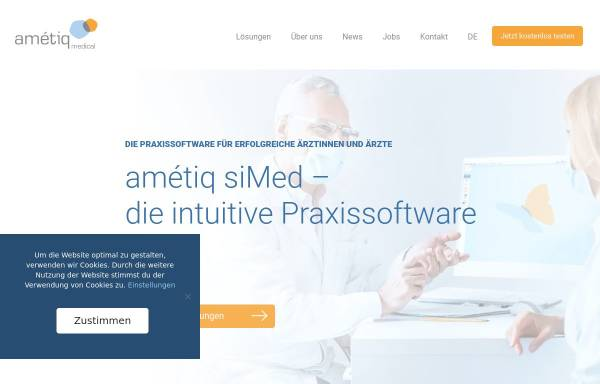 Vorschau von www.ametiq.com, Amétiq GmbH