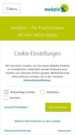 Vorschau der mobilen Webseite www.docexpert.de, DOCexpert Gruppe