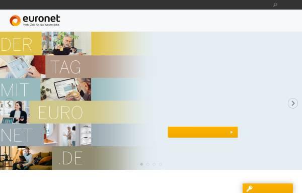 Vorschau von www.euronet-ag.de, EuroNet Software AG
