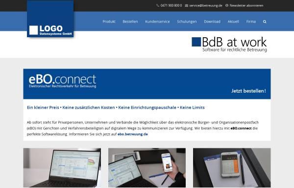 Vorschau von www.betreuung.de, LOGO Datensysteme GbR