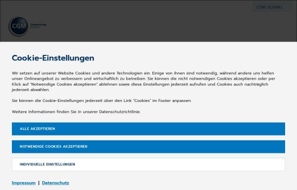 Vorschau von www.medistar.de, MEDISTAR Praxiscomputer GmbH - Systeme für Ärzte