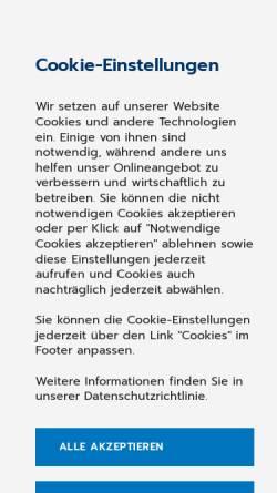 Vorschau der mobilen Webseite www.medistar.de, MEDISTAR Praxiscomputer GmbH - Systeme für Ärzte