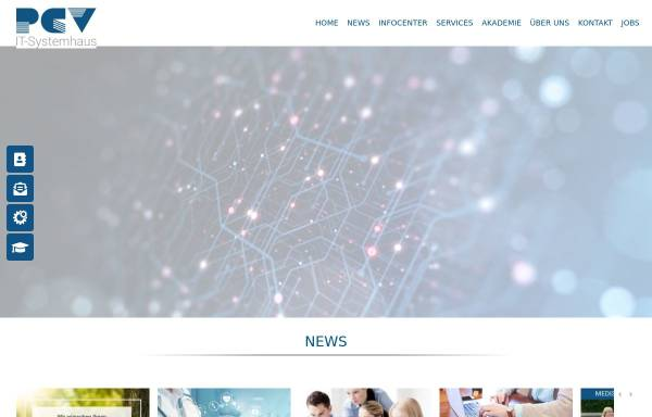 Vorschau von pcv.de, PCV Systemhaus GmbH & Co. KG