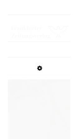 Vorschau der mobilen Webseite www.frankfurter-zeitungsverlag.de, Klein, Druck und Verlag