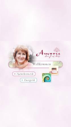 Vorschau der mobilen Webseite www.amyris.at, Amyris - Margot Handler