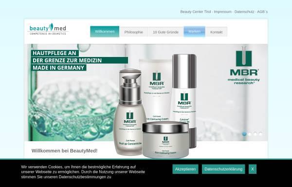 Vorschau von www.beautymed.at, Beautymed Handels-GmbH