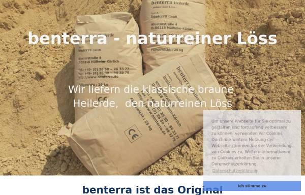 Vorschau von www.benterra.de, Benterra GmbH