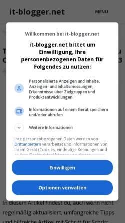 Vorschau der mobilen Webseite beqiraj.com, Office Updates Valdet Beqiraj