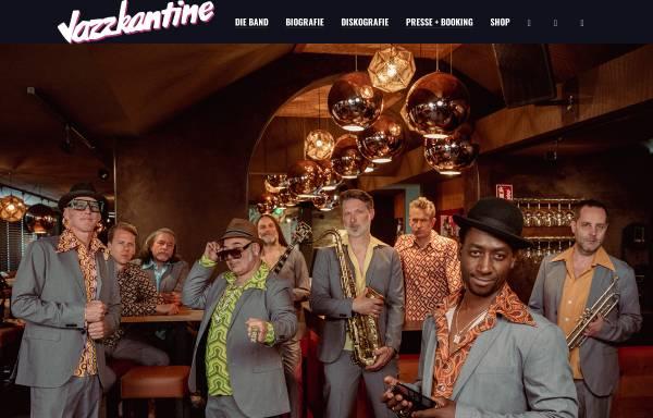 Vorschau von www.jazzkantine.de, Jazzkantine im Internet