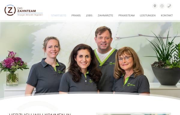 Vorschau von www.zahnaerzte-in-minden.net, Zahnärzte de Jonckheere, Olfens, Schwenker, Dr. Falch