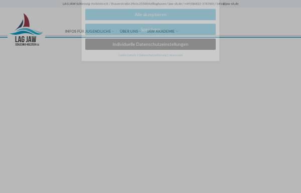 Vorschau von www.jaw-sh.de, JAW Schleswig-Holstein