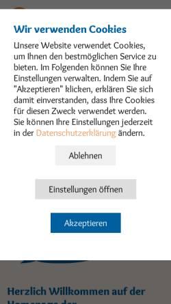 Vorschau der mobilen Webseite www.kita-eltern-sh.de, KiTa Elternvertretungen SH