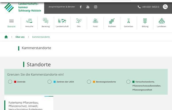Vorschau von www.lva-milchwirtschaft.de, LVAM Bad Malente