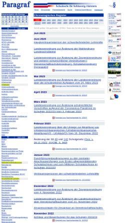 Vorschau der mobilen Webseite schulrecht-sh.de, Paragraf - Schulrecht für Schleswig-Holstein