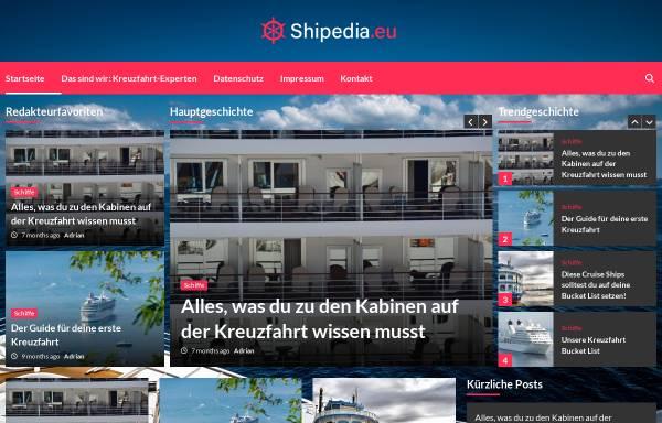Vorschau von www.shipedia.eu, Shipedia