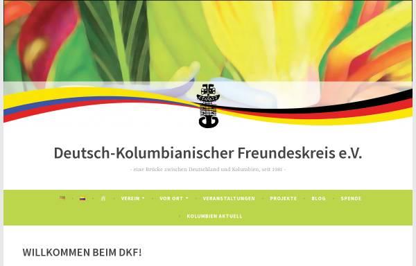 Vorschau von www.dkfev.de, Deutsch-Kolumbianischer Freundeskreis e.V.