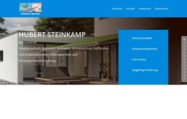 Vorschau von www.sicht-sonnen-wetterschutz.de, Hubert Steinkamp