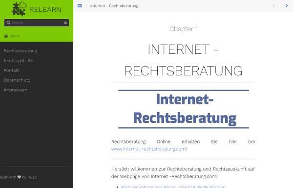 Vorschau von www.internet-rechtsberatung.com, Internet-Rechtsberatung.com