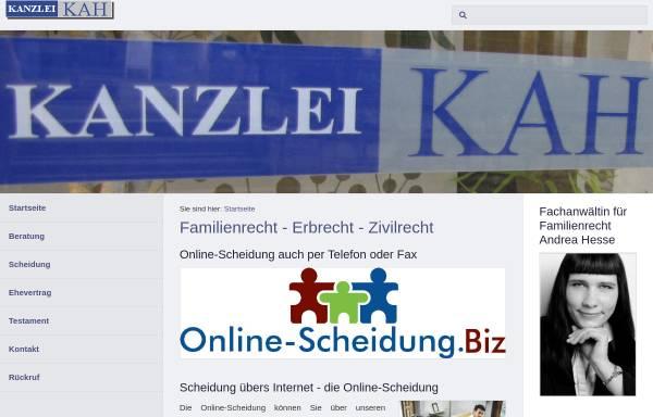 Vorschau von www.net-rechtsanwalt.de, Kah Christian