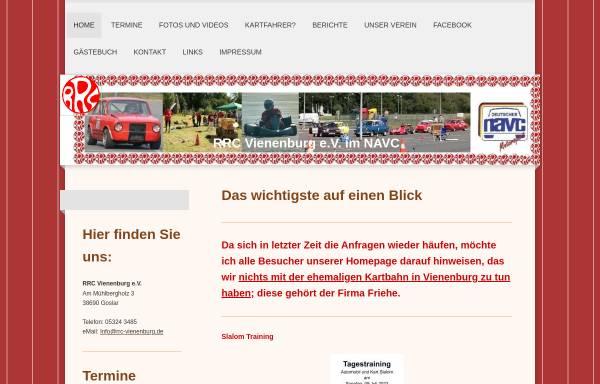 Vorschau von www.rrc-vienenburg.de, Rallye-Racing-Club e.V. Vienenburg