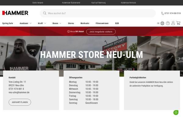 Vorschau von www.hammer.de, Hammer Sport AG