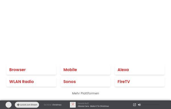 Vorschau von www.christmas-channel.com, Weihnachtsradio Christmas Channel