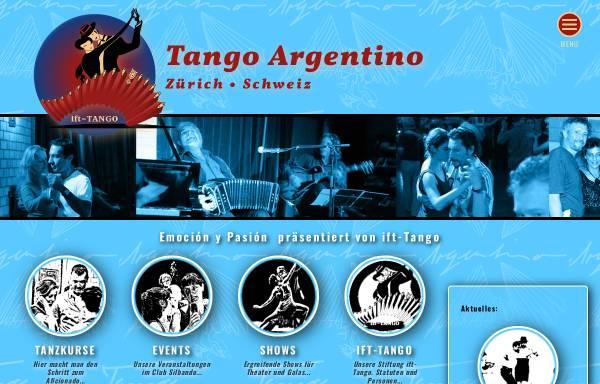 Vorschau von www.tango.ch, tango.ch