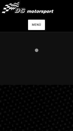 Vorschau der mobilen Webseite www.ds-motorsport.de, DS motorsport GmbH
