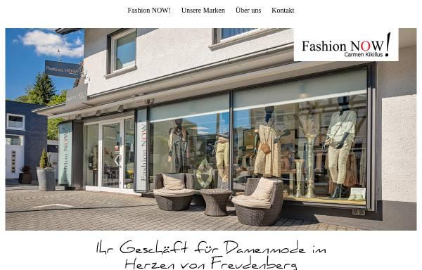 Vorschau von www.fashion-now.de, Fashion Now, Carmen Kikillus
