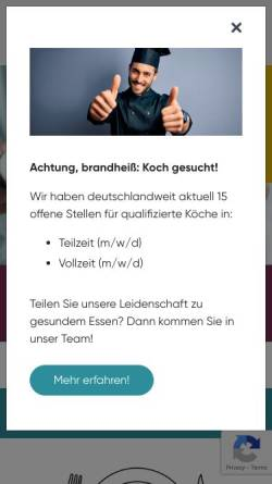 Vorschau der mobilen Webseite www.primus-service.de, Primus-Service GmbH