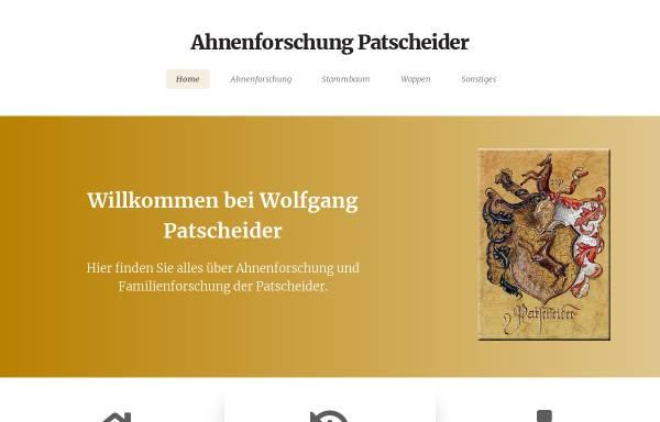 Vorschau von www.patscheider.at, Patscheider, Wolfgang