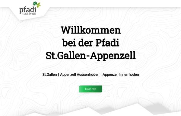 Vorschau von www.pfadi-sgarai.ch, Pfadi Kantonalverband St. Gallen - Appenzell