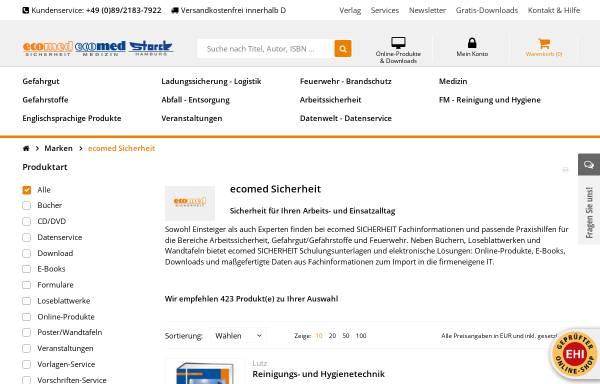 Vorschau von www.ecomed-sicherheit.de, ecomed Sicherheit