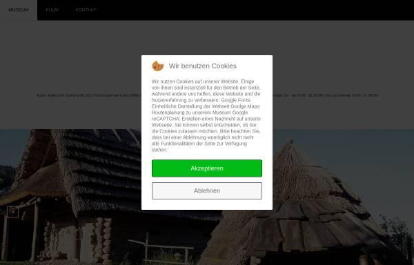 Vorschau von www.kulm-keltendorf.at, Urgeschichtliches Freilichtmuseum am Kulm