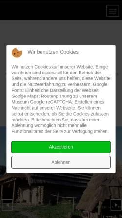 Vorschau der mobilen Webseite www.kulm-keltendorf.at, Urgeschichtliches Freilichtmuseum am Kulm