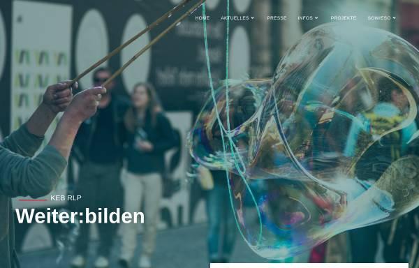 Vorschau von www.keb-rheinland-pfalz.de, Katholische Erwachsenenbildung