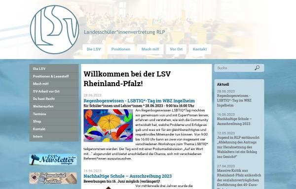 Vorschau von www.lsvrlp.de, LandesschülerInnenvertretung Rheinland-Pfalz