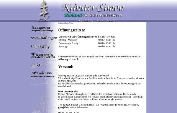 Vorschau von www.kraeuter-simon.com, Kräuter-Simon
