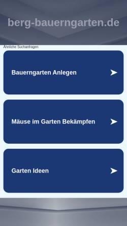 Vorschau der mobilen Webseite www.berg-bauerngarten.de, Myrrhenkerbel