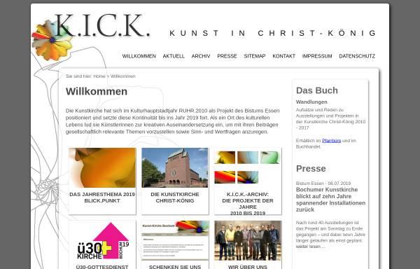 Vorschau von www.kick-2010.de, K.I.C.K. 2010