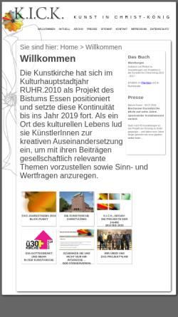 Vorschau der mobilen Webseite www.kick-2010.de, K.I.C.K. 2010