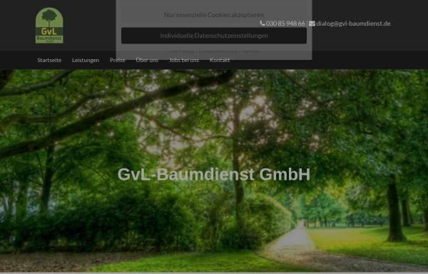 Vorschau von www.gvl-baumdienst.de, Gernot von Lyskowski, GVL Baumdienst