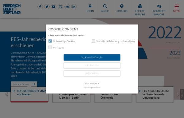 Vorschau von www.fes.de, Die Befreiungskriege von 1813 bis 1815 in der deutschen Geschichte